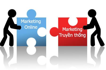 Marketing online và Marketing truyền thống