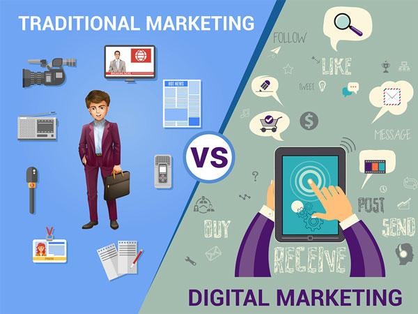 So sánh Marketing online và marketing truyền thống