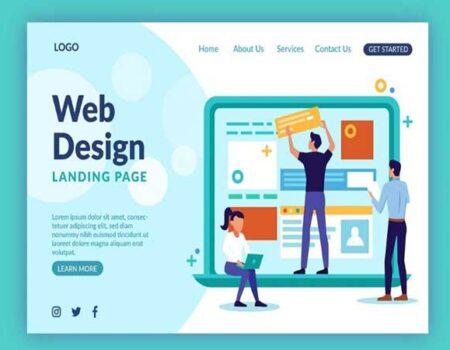 thiết kế web tại cát bà