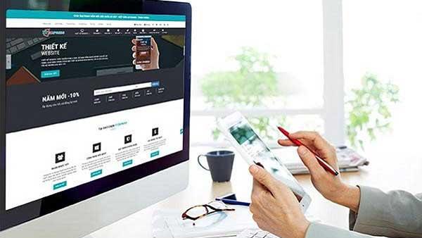 thiết kế website bán hàng tại kiến thụy