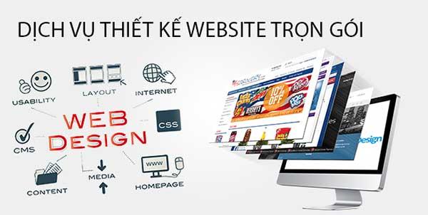 thiết kế website trọn gói tại an dương