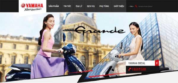 thiết kế web mua bán xe máy tại hải phòng